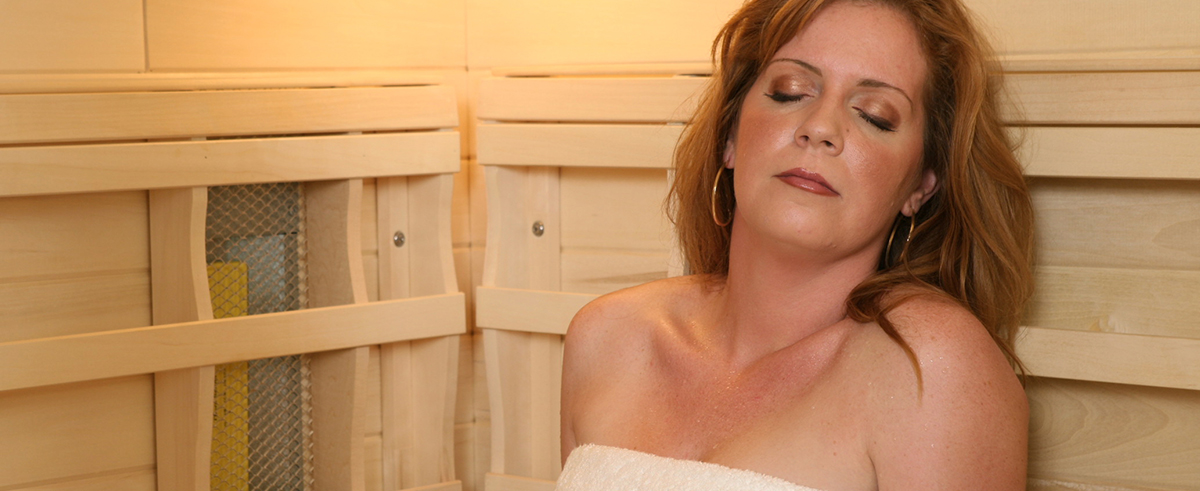 sauna relaxing