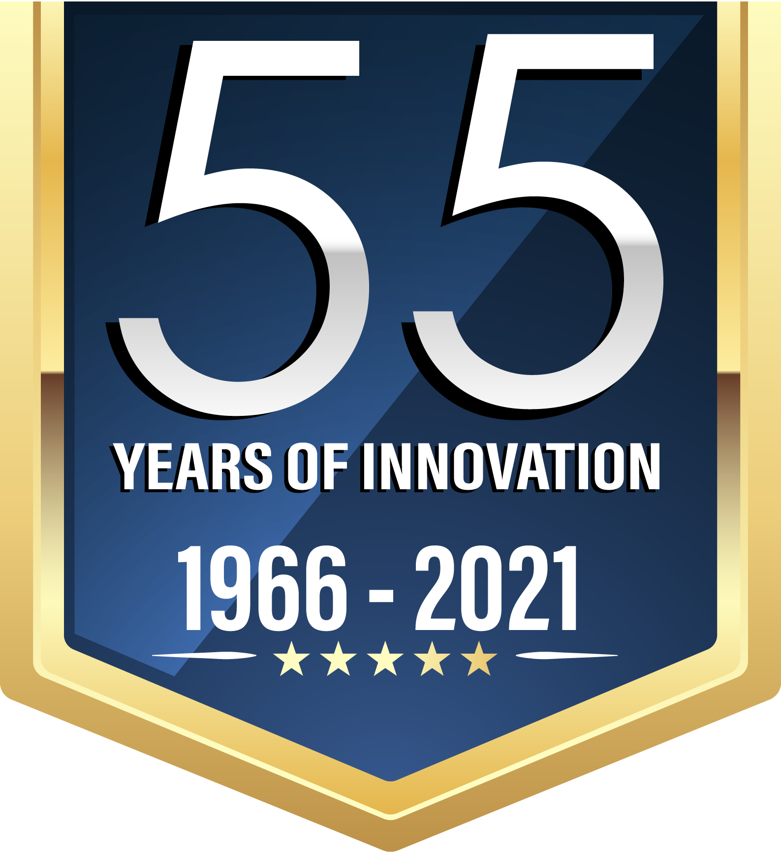 55 Year Logo