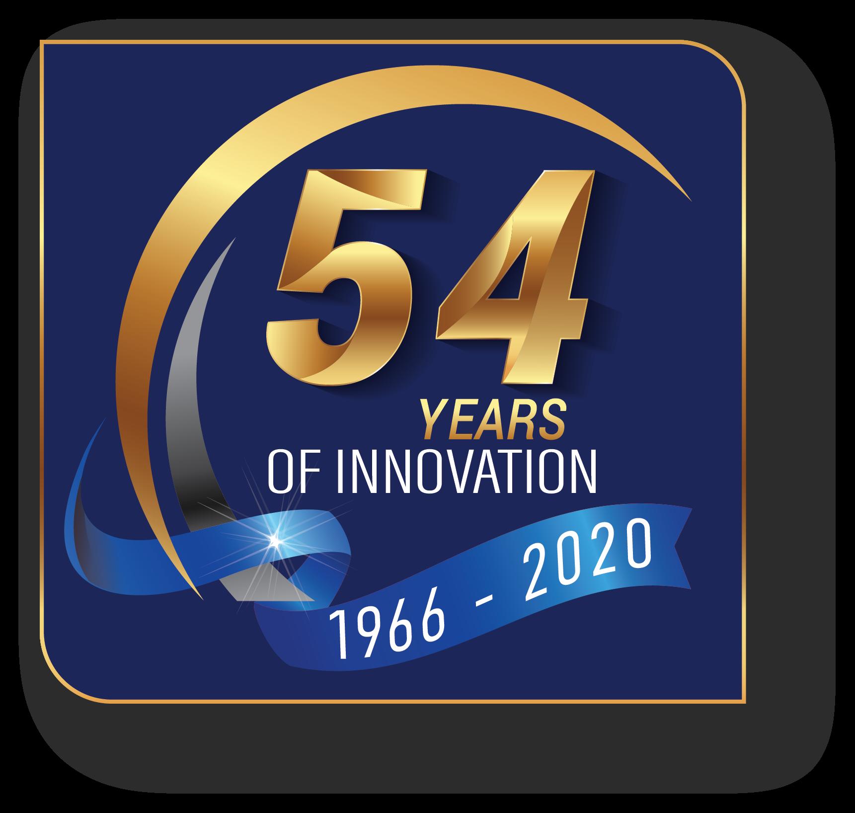 54 Year Logo
